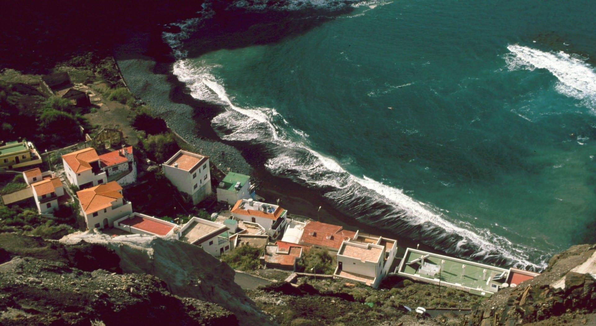 Playa de Alojera La Gomera España