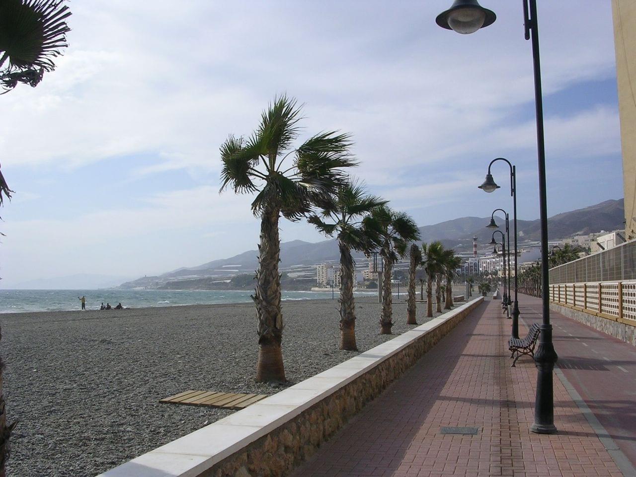 Playa de Poniente Adra España
