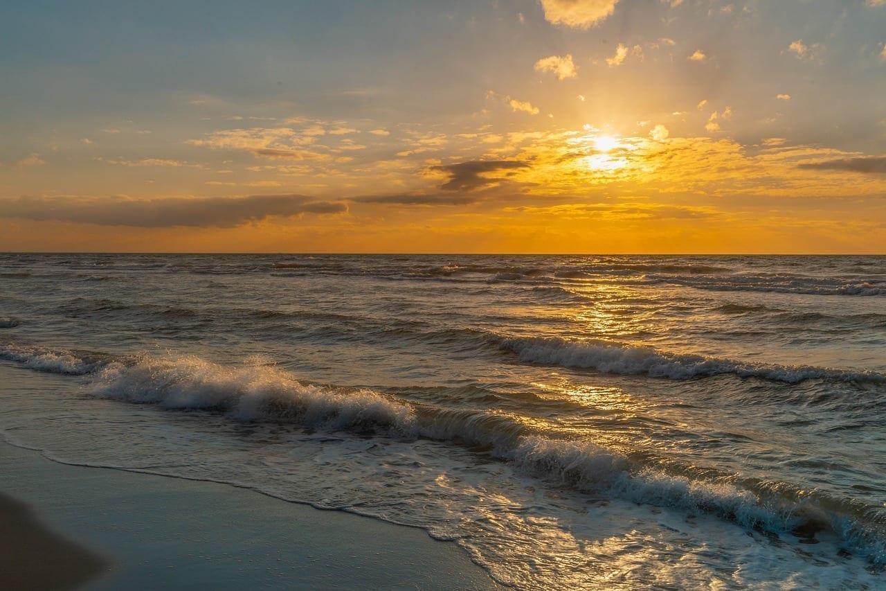 Playa De Poniente Mar Báltico Playa México
