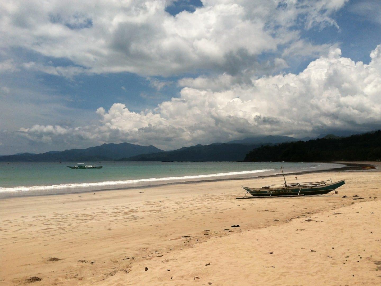 Playa de Sabang Puerto Princesa Filipinas