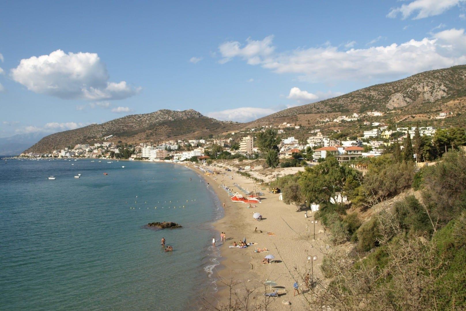 Playa de Tolo Tolo Grecia
