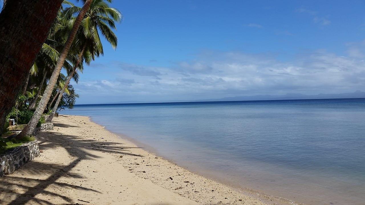 Playa Fiji Idílico Fiyi