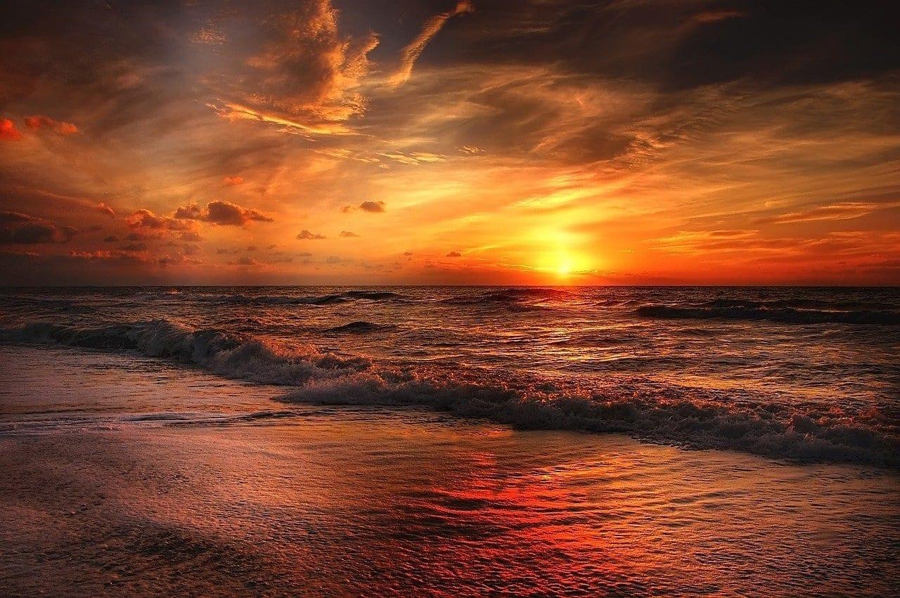 Playa Mar Del Norte Mar México