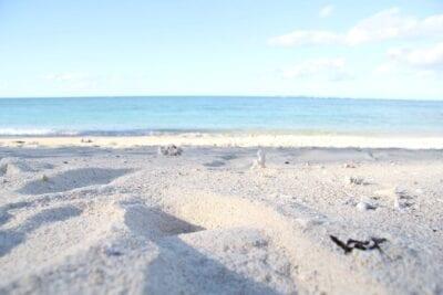 Playa Sandy Okinawa Japón