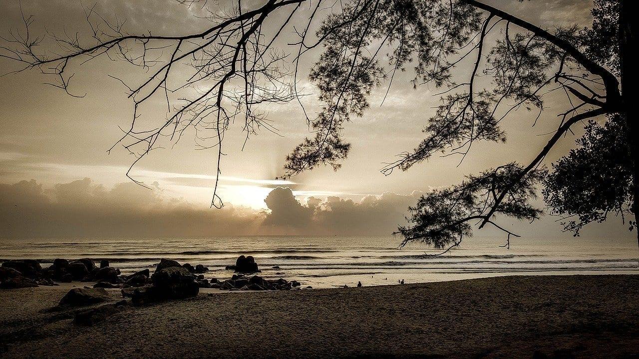 Playa Teluk Kuantan Malasia