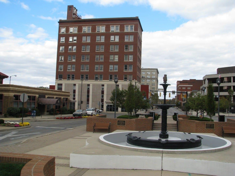 Plaza de la Fuente Springfield OH Estados Unidos