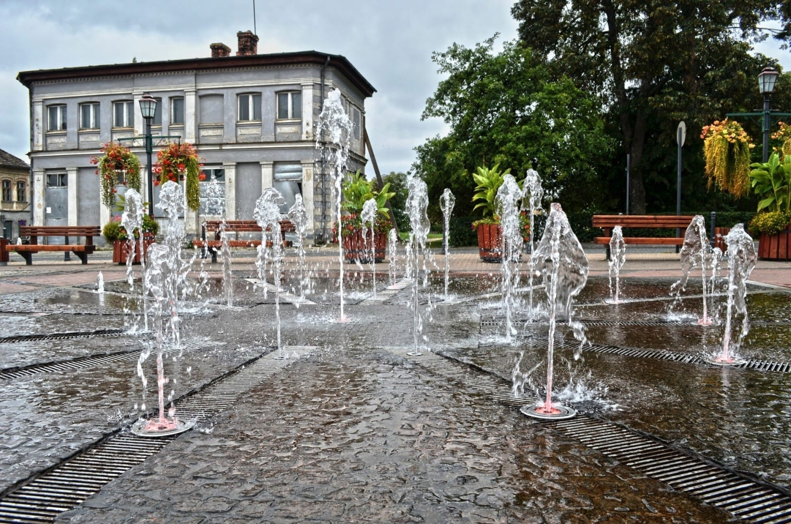 Plaza de las Rosas (Rožu laukums) Cesis Letonia