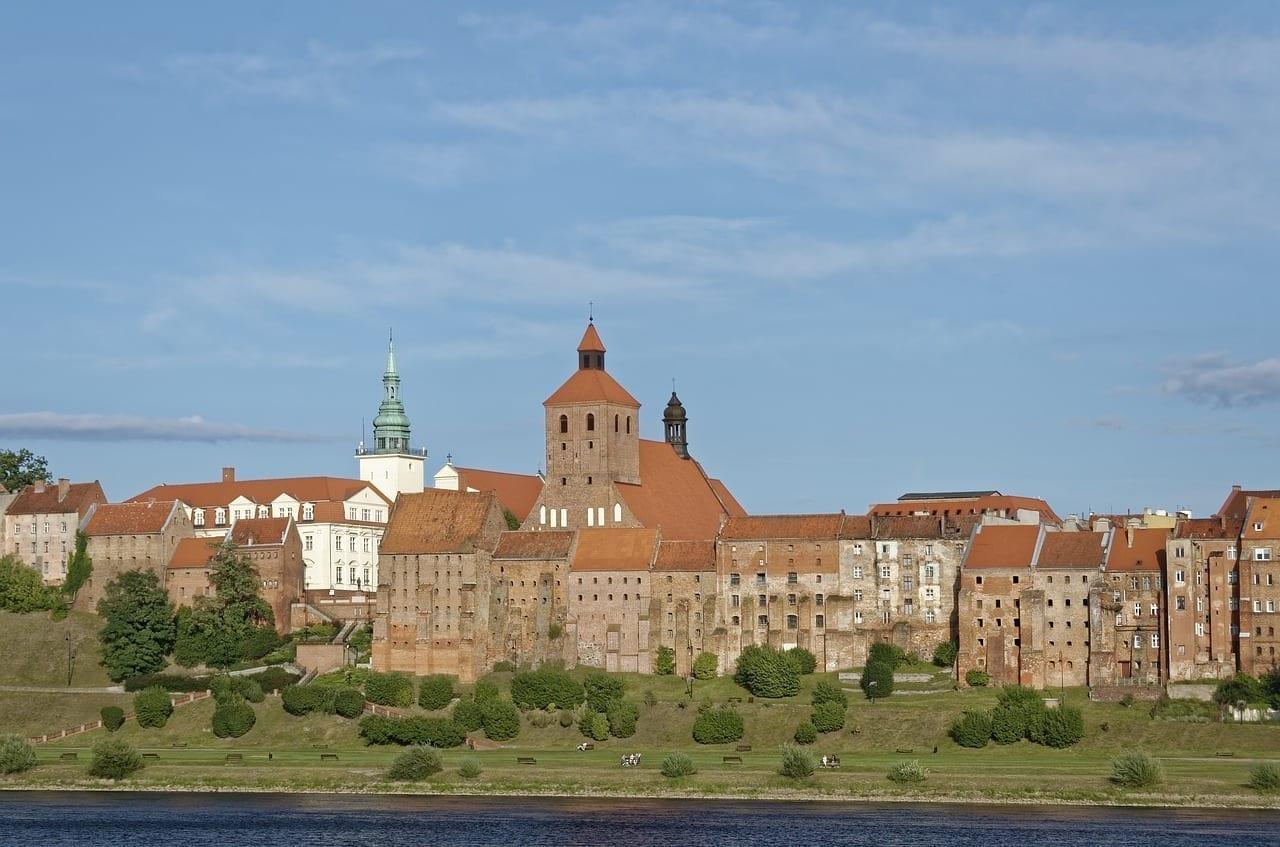 Polonia Grudziądz Río Vístula Polonia