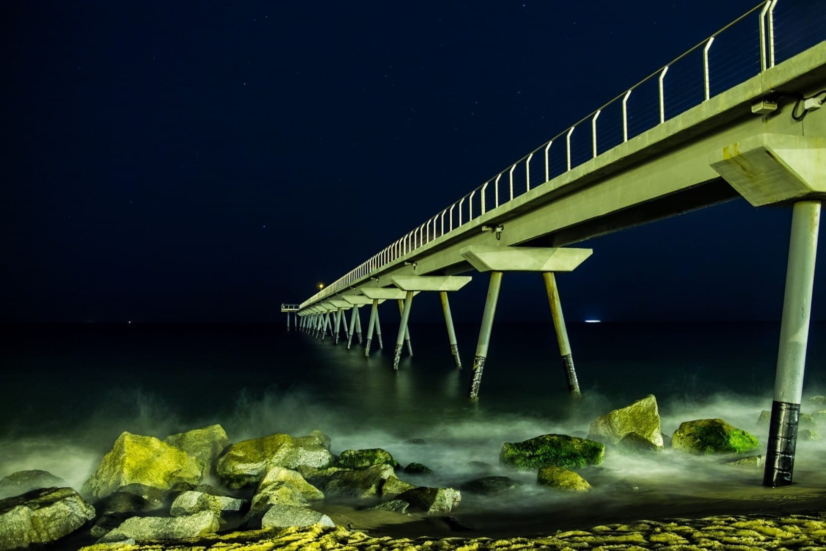 Pont del Petroli Badalona España
