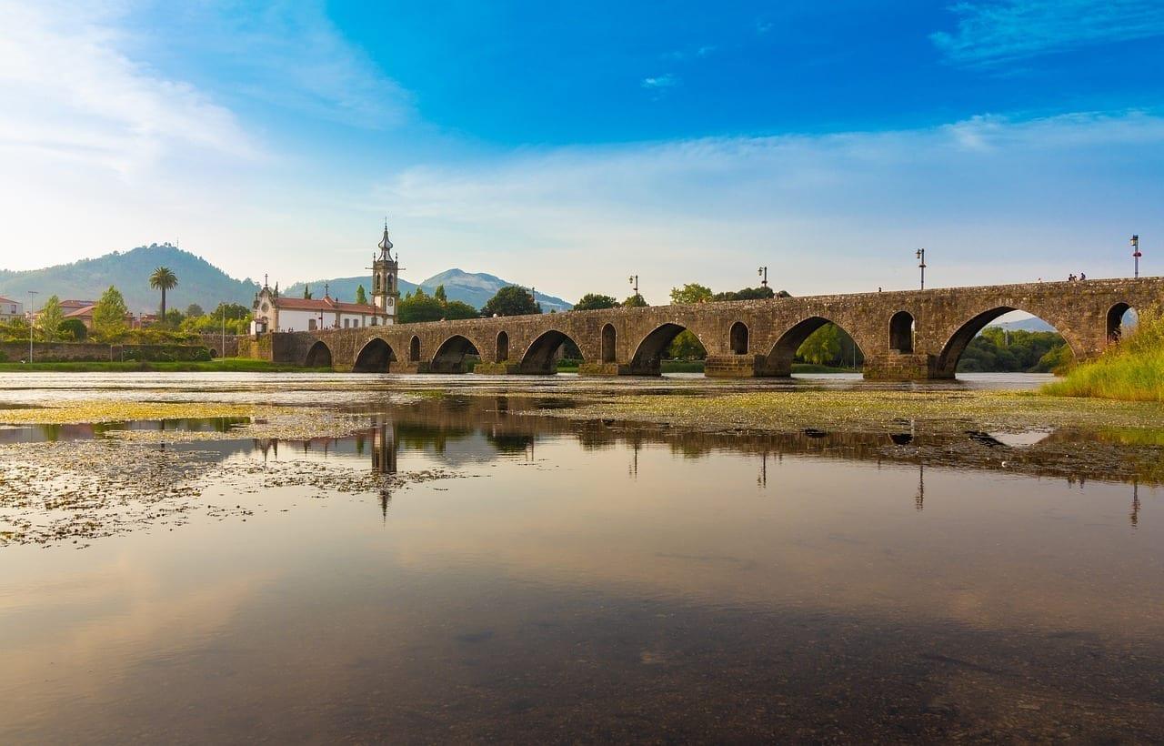 Ponte De Lima Rio Lima Portugal Portugal