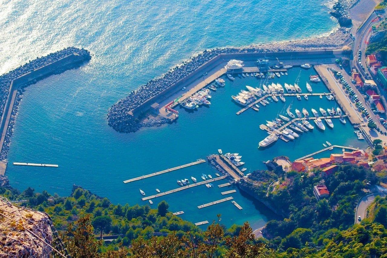 Porto Maratea Basilicata Italia