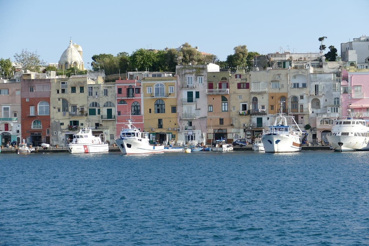 Procida Ischia Italia Italia