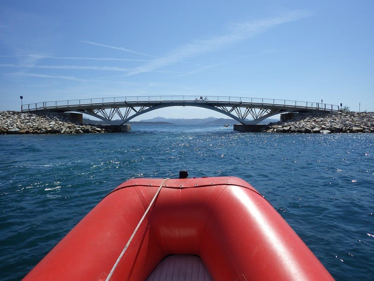 Puente La Maddalena Caprera Italia