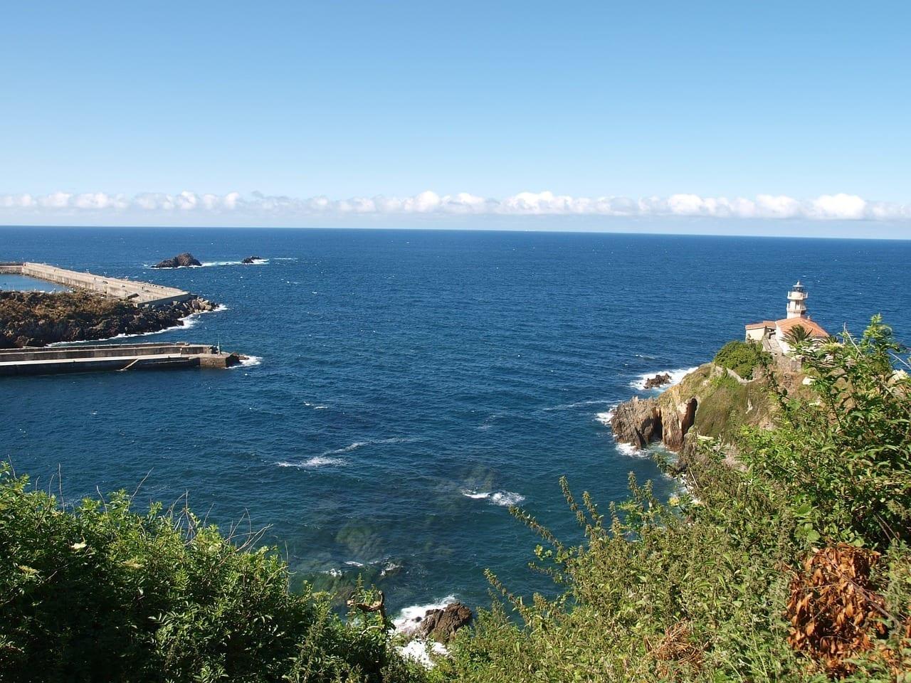 Puerto Cudillero Costa Mar España