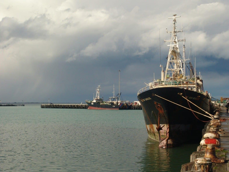 Puerto de Timaru Timaru Nueva Zelanda