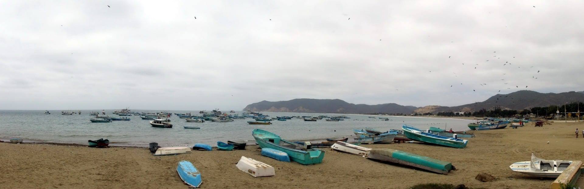 Puerto Lopez beach Puerto López Ecuador