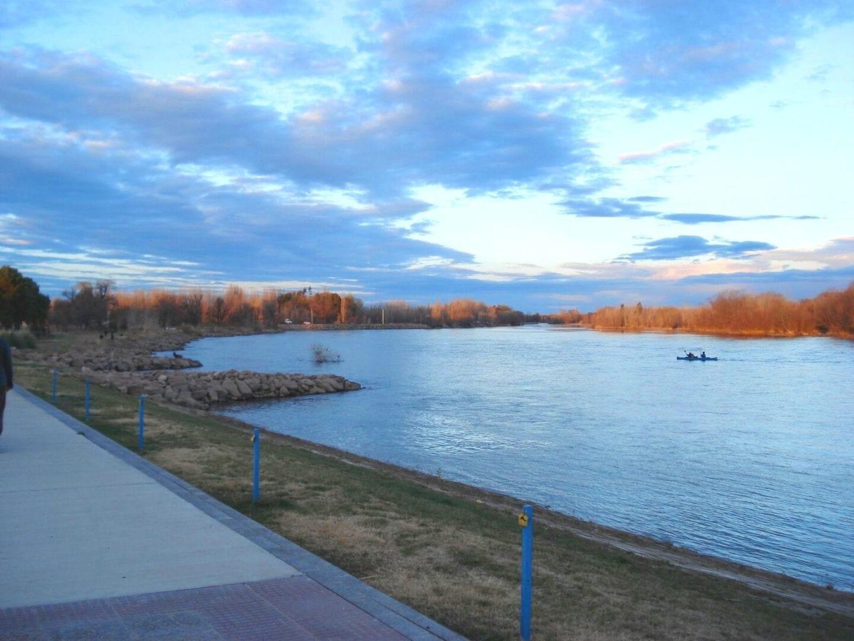 Río Grande en invierno Neuquen Argentina