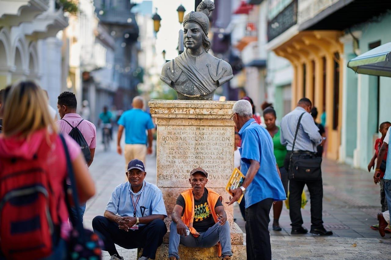 República Dominicana La Zona Colonial Relajarse Panamá