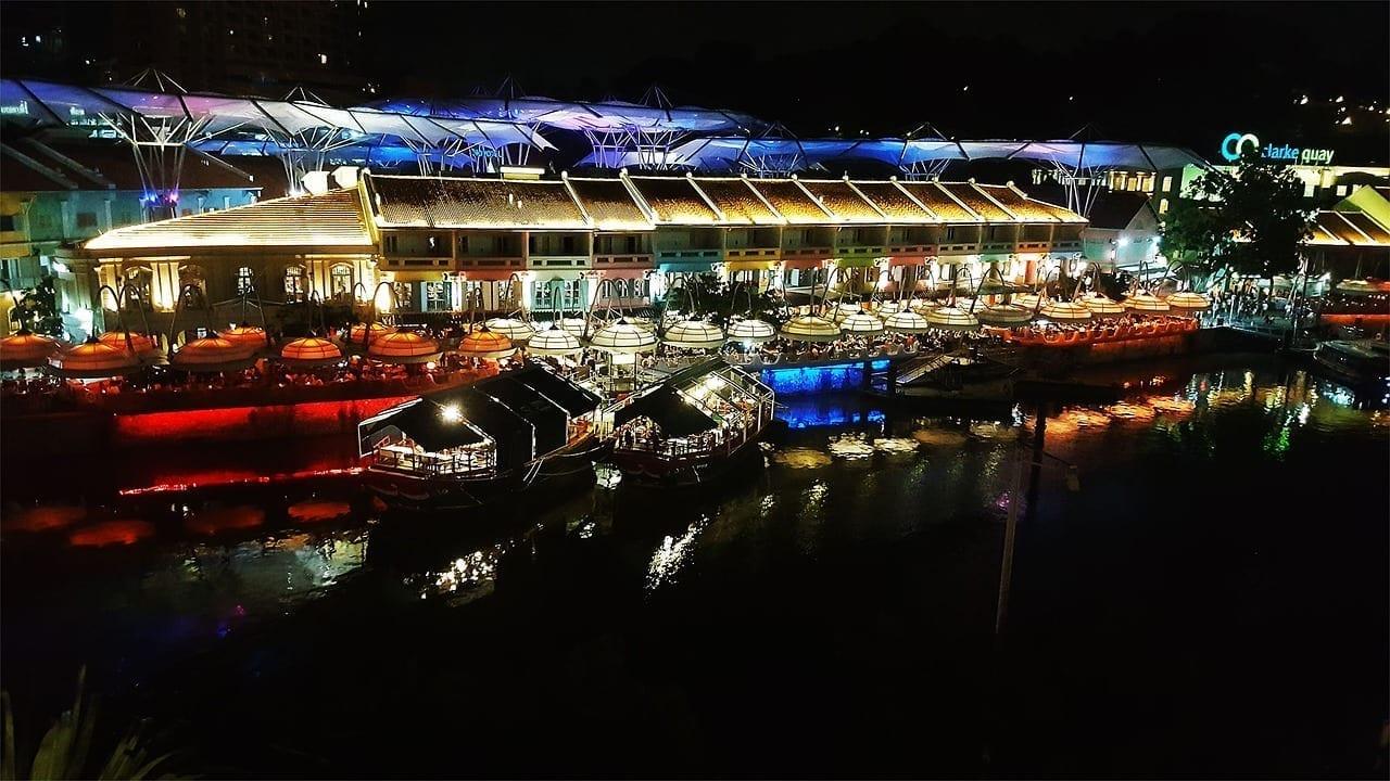 Riverside Muelle De Clarke Singapur Filipinas