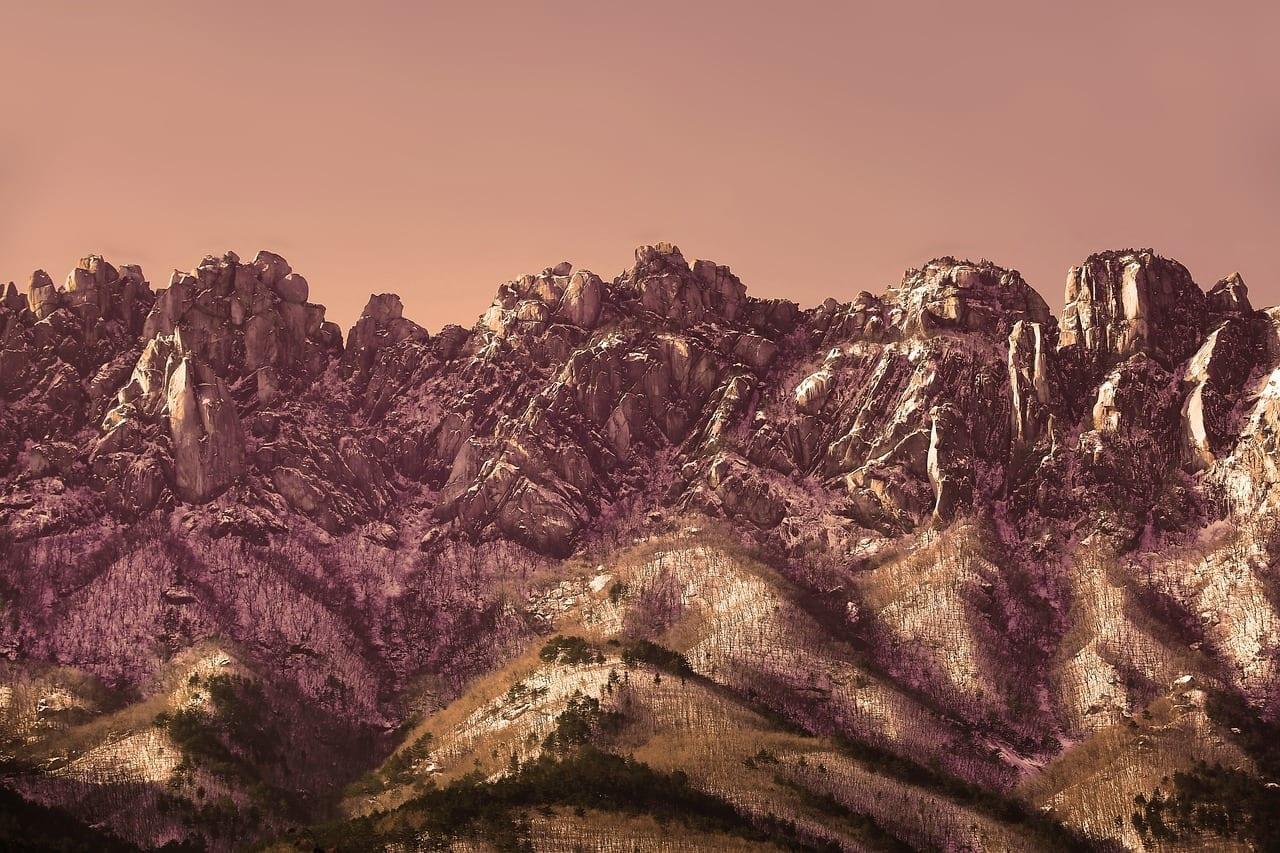 Roca Ulsan Gangwon Do Sokcho Corea del Sur