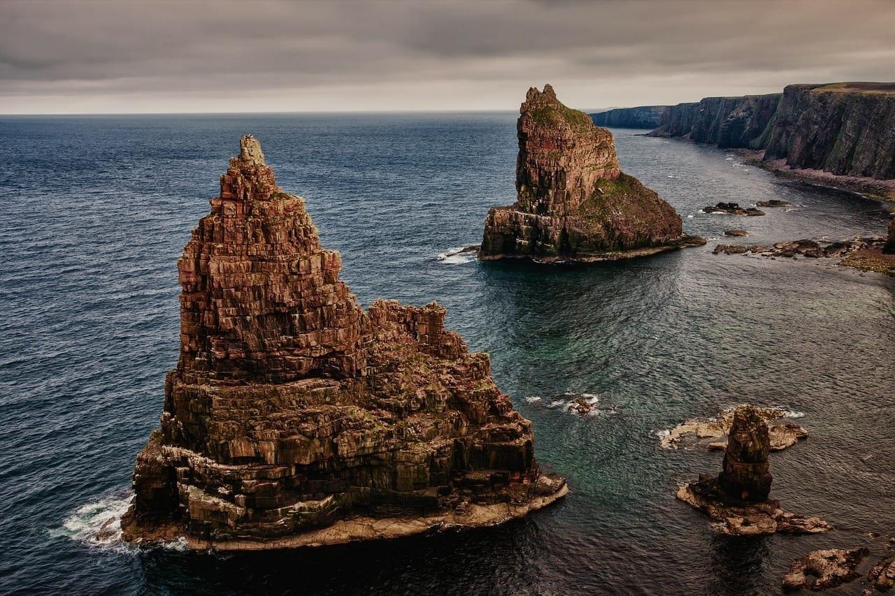 Rock Pilas De Duncansby Escocia España
