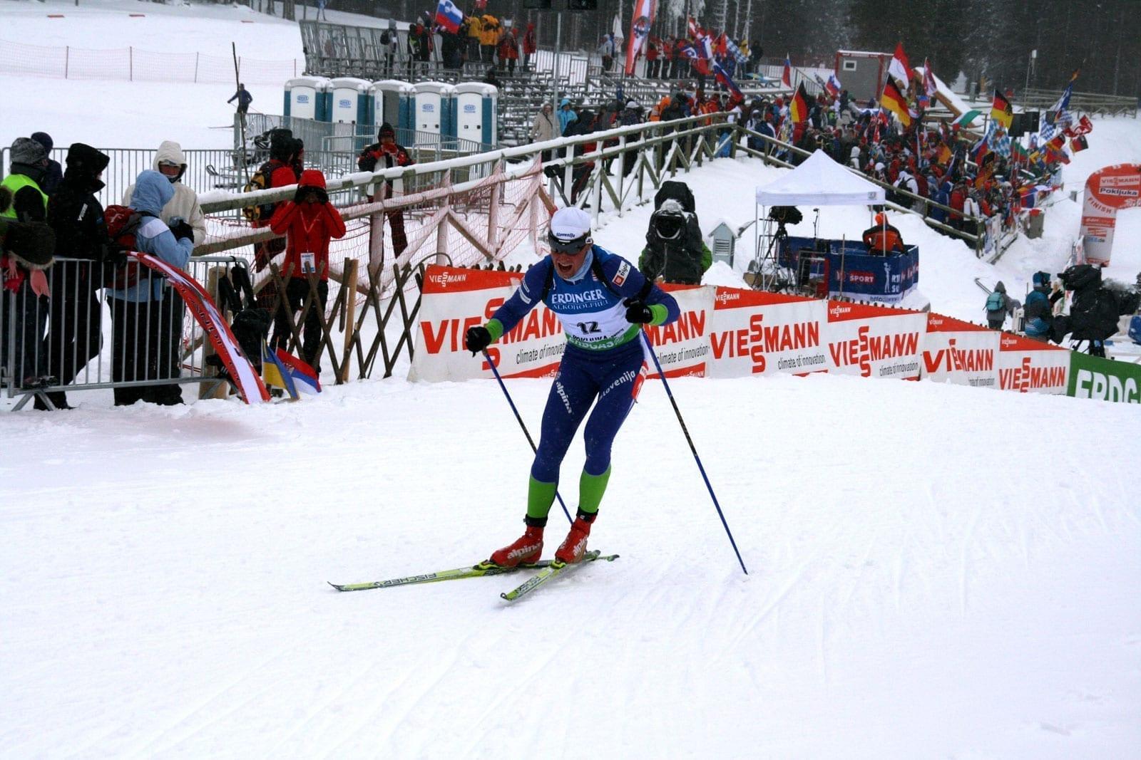 Rogla Copa del Mundo de esquí de fondo 2009 Zrece Eslovenia