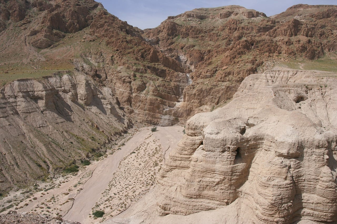 Rollo Del Mar Muerto Biblia Qumrán Jordania