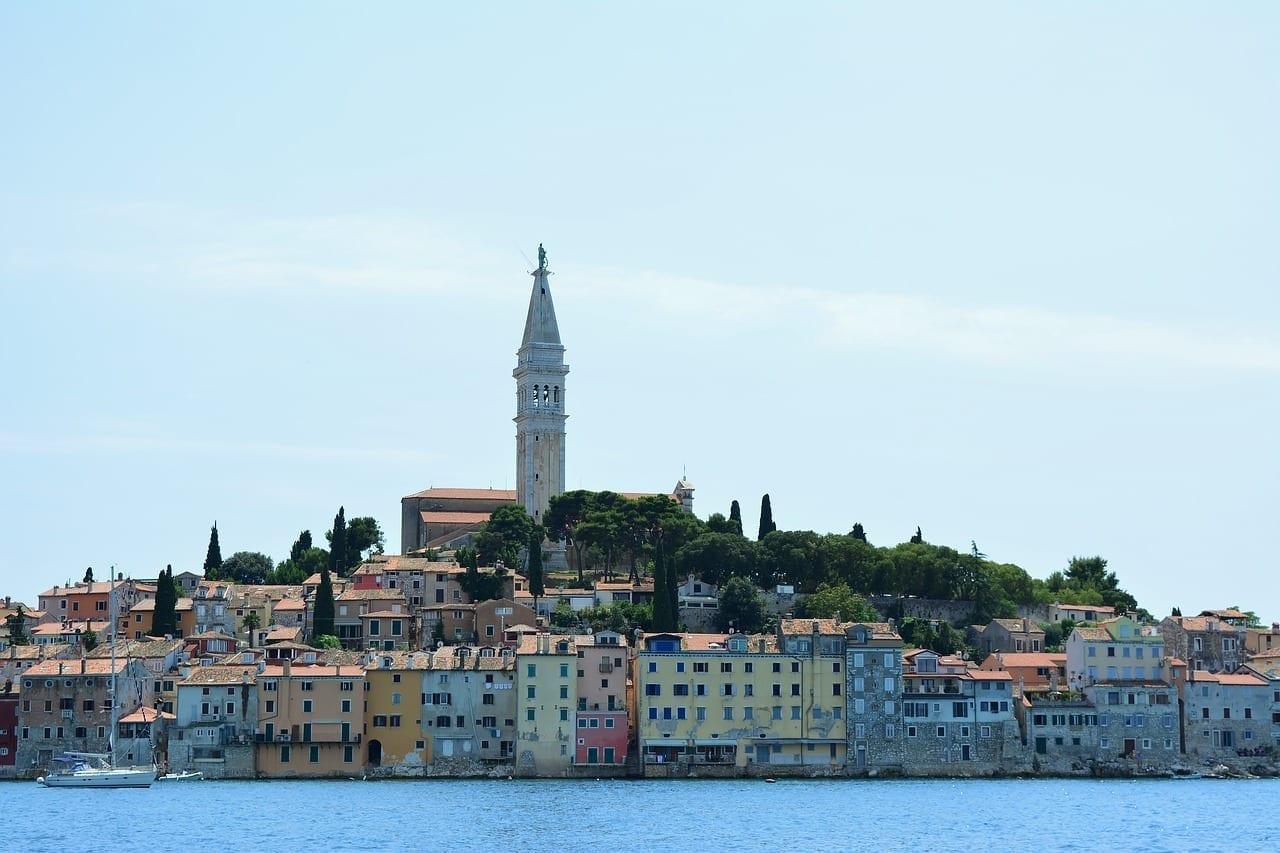 Rovinj Istria Centro Historico Croacia
