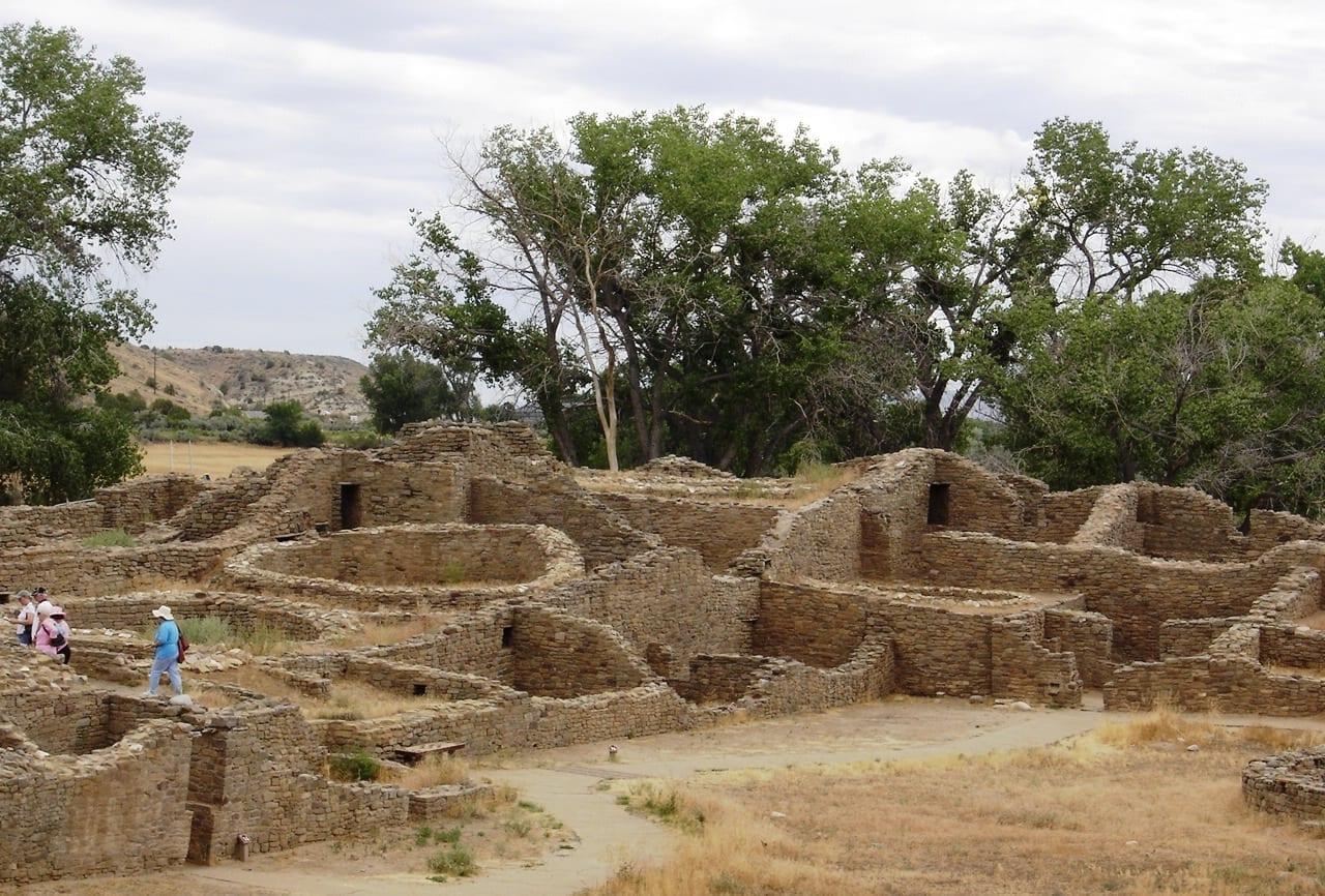 Ruinas Aztecas Farmington NM Estados Unidos