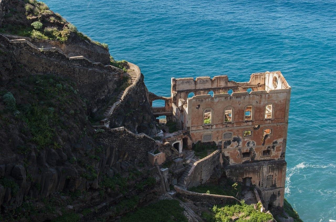 Ruinas Del Monasterio Los Realejos San Pedro España