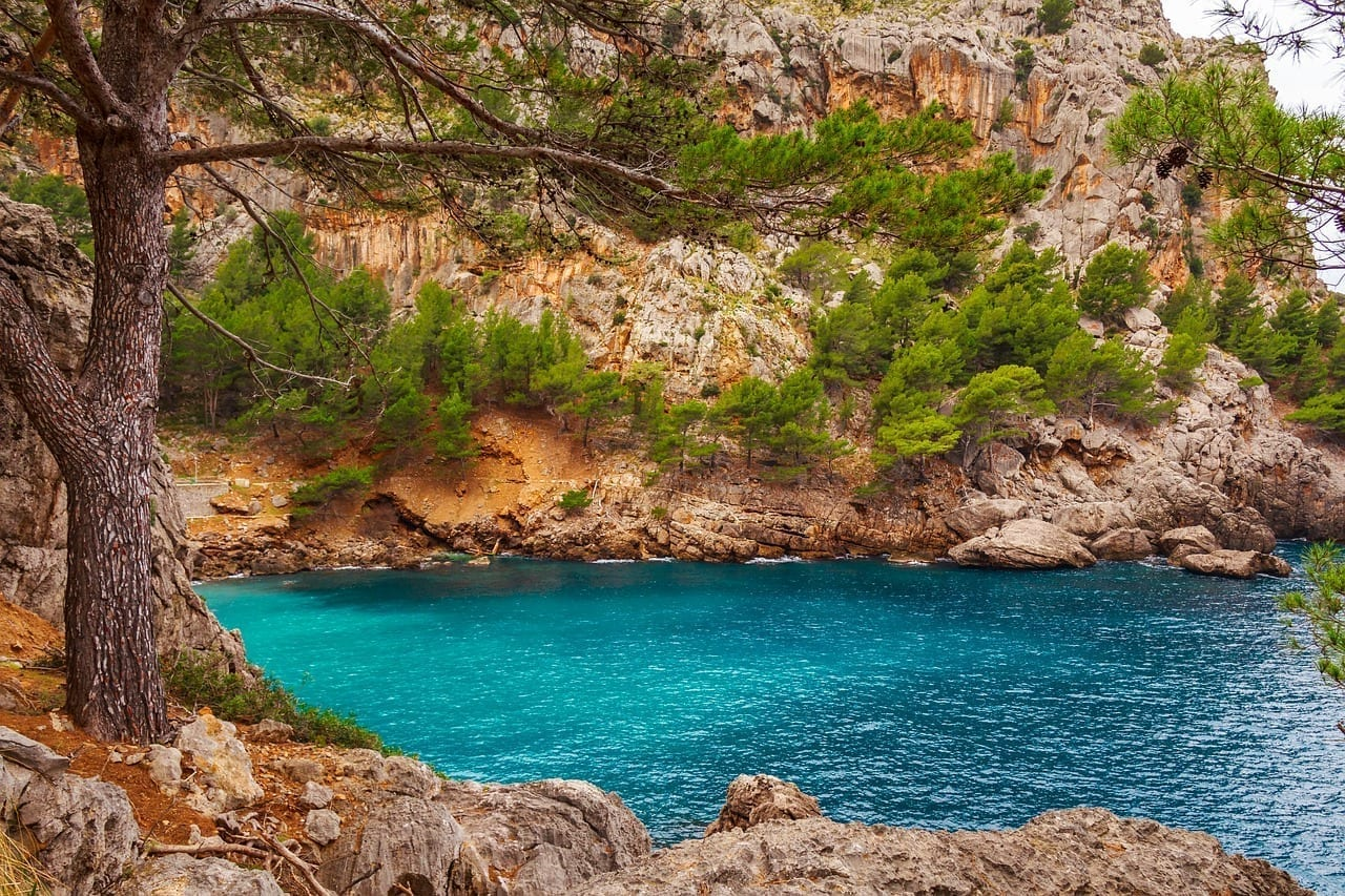 Sa Calobra Torrente De Pareis Mallorca España