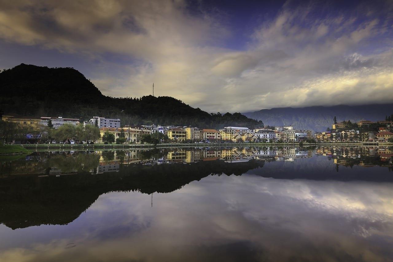 Sa Pa La Ciudad Lago Vietnam