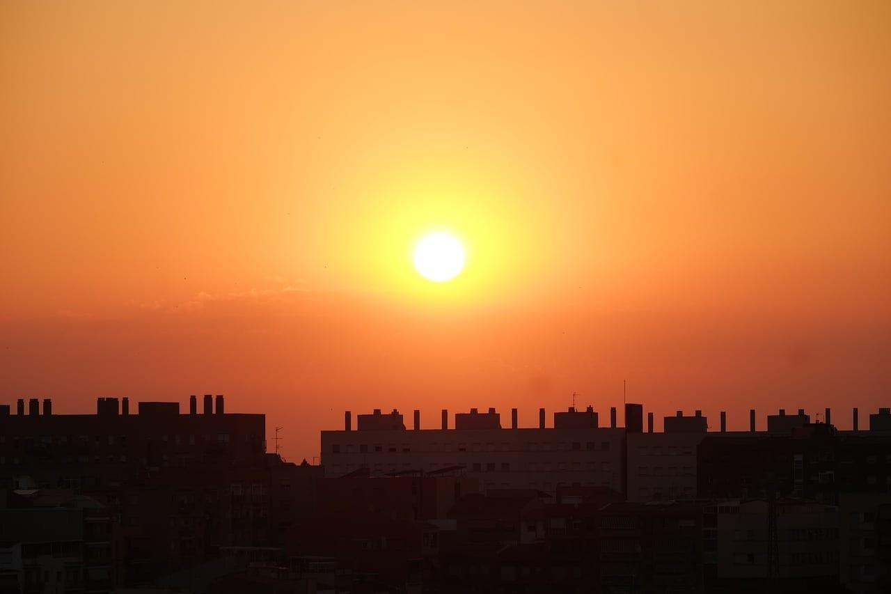 Sabadell Amanecer Sol España