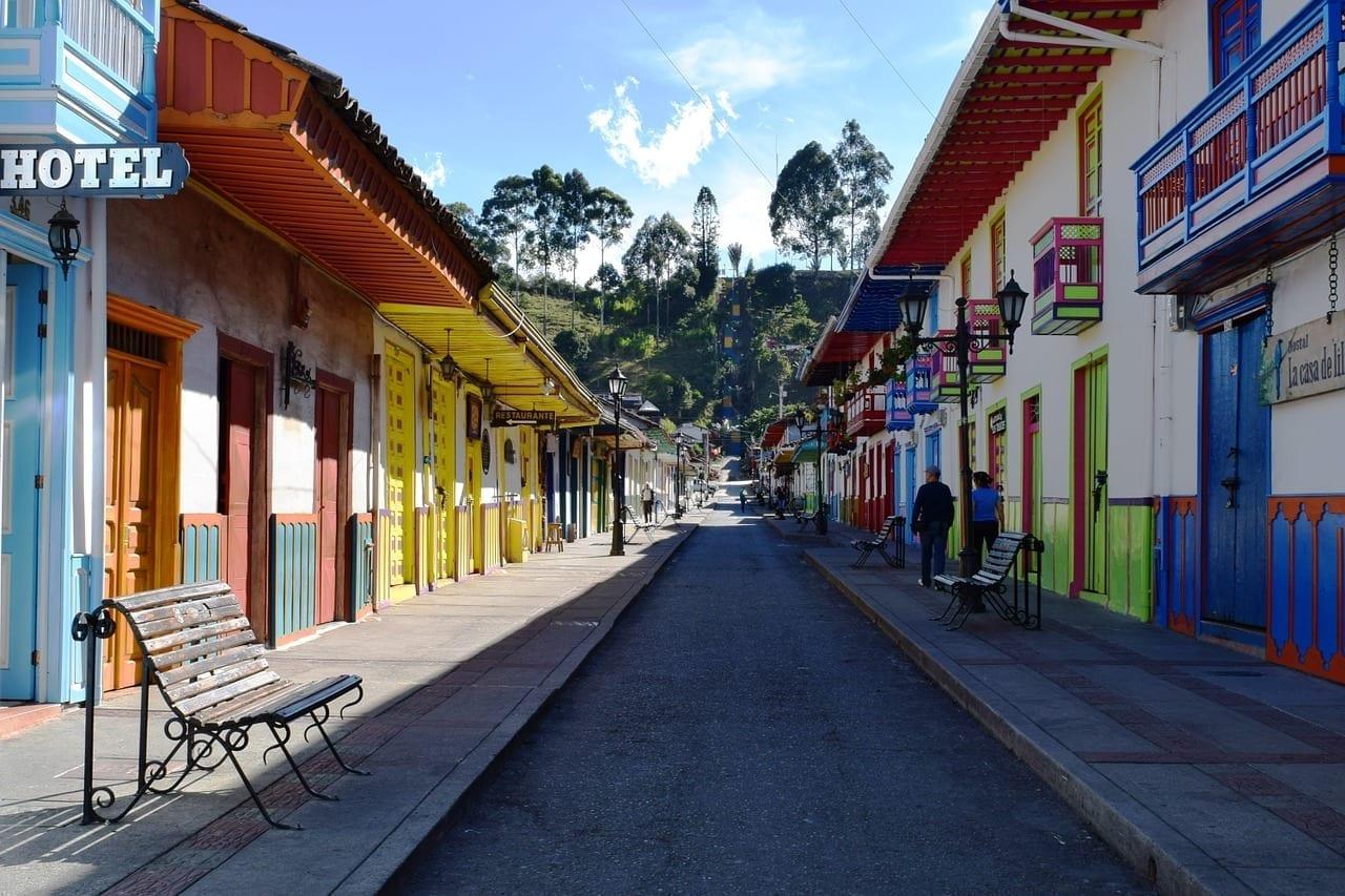 Salento Quindío Pueblo Colombia