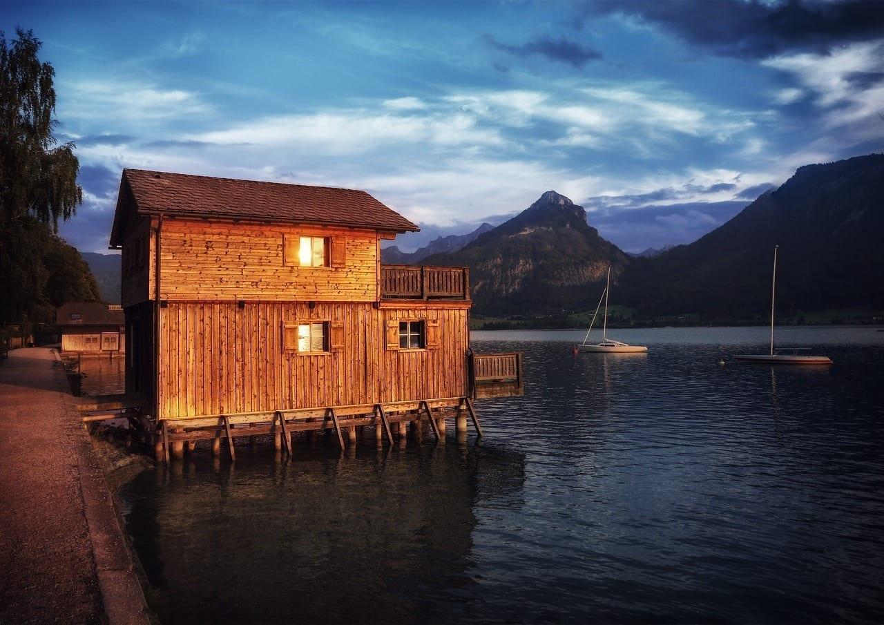 Salzkammergut Lago Wolfgang Casa Austria