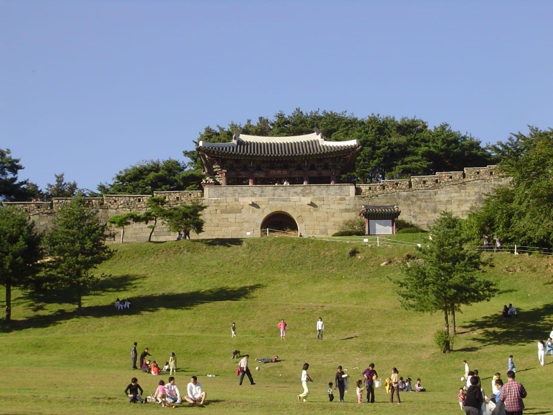 Sangdangsanseong - Fortaleza Sangdang Cheongju Corea del Sur