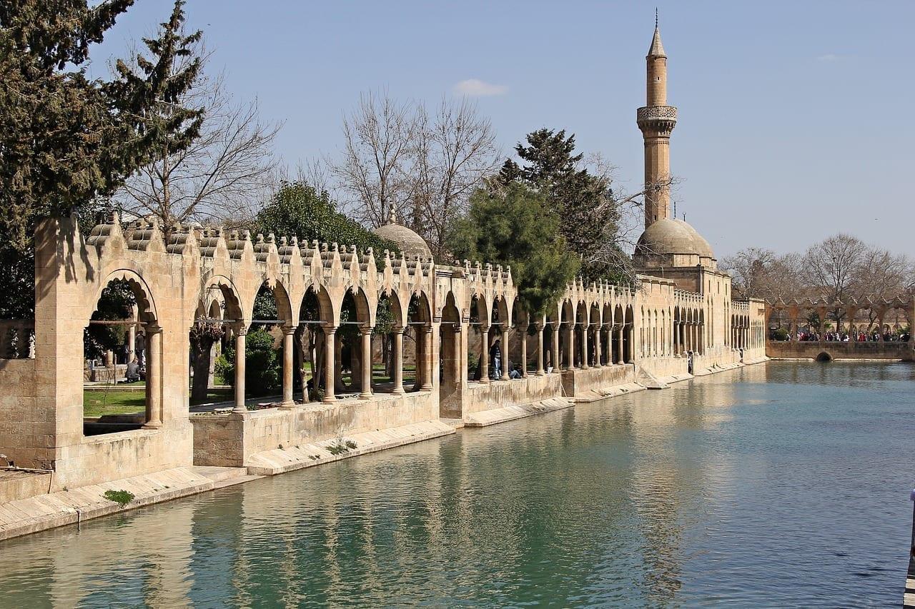 Sanliurfa Pescado Del Lago Religiosa Turquía