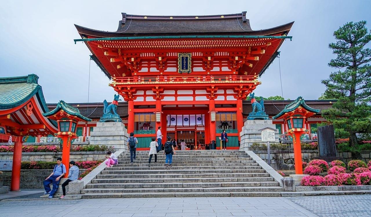 Santuario De Fushimi Inari-taisha Kyoto Japón Finlandia