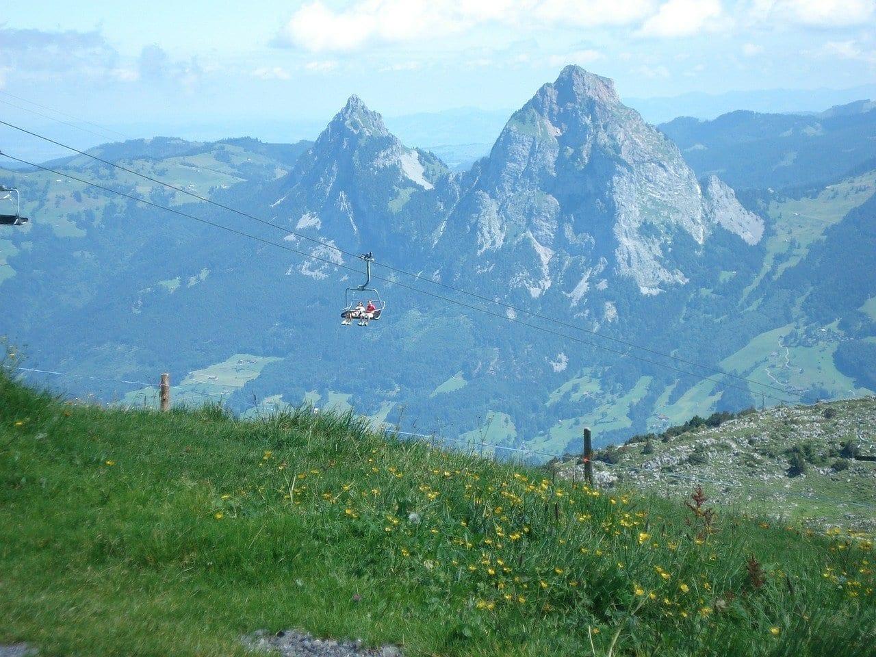 Schwyz Fronalpstock Mitos Suiza
