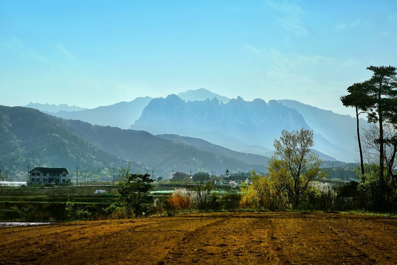 Seoraksan Mt Roca Ulsan Paisaje Corea del Sur
