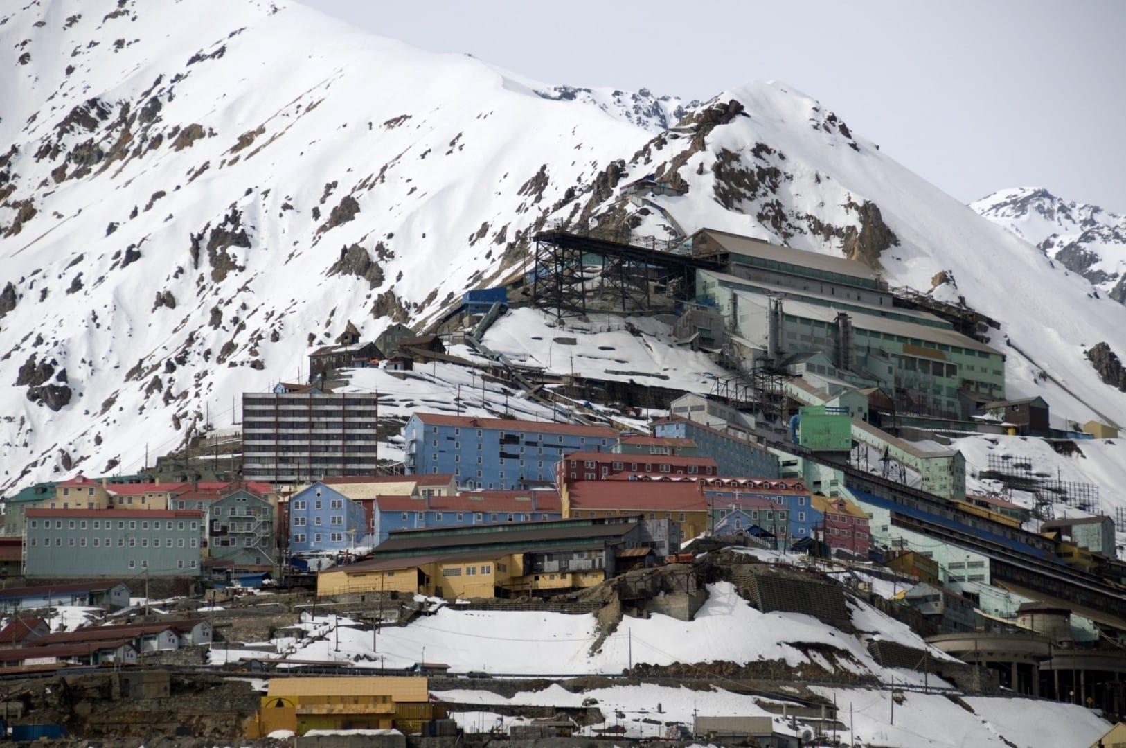 Sewell y la mina El Teniente. Rancagua Chile