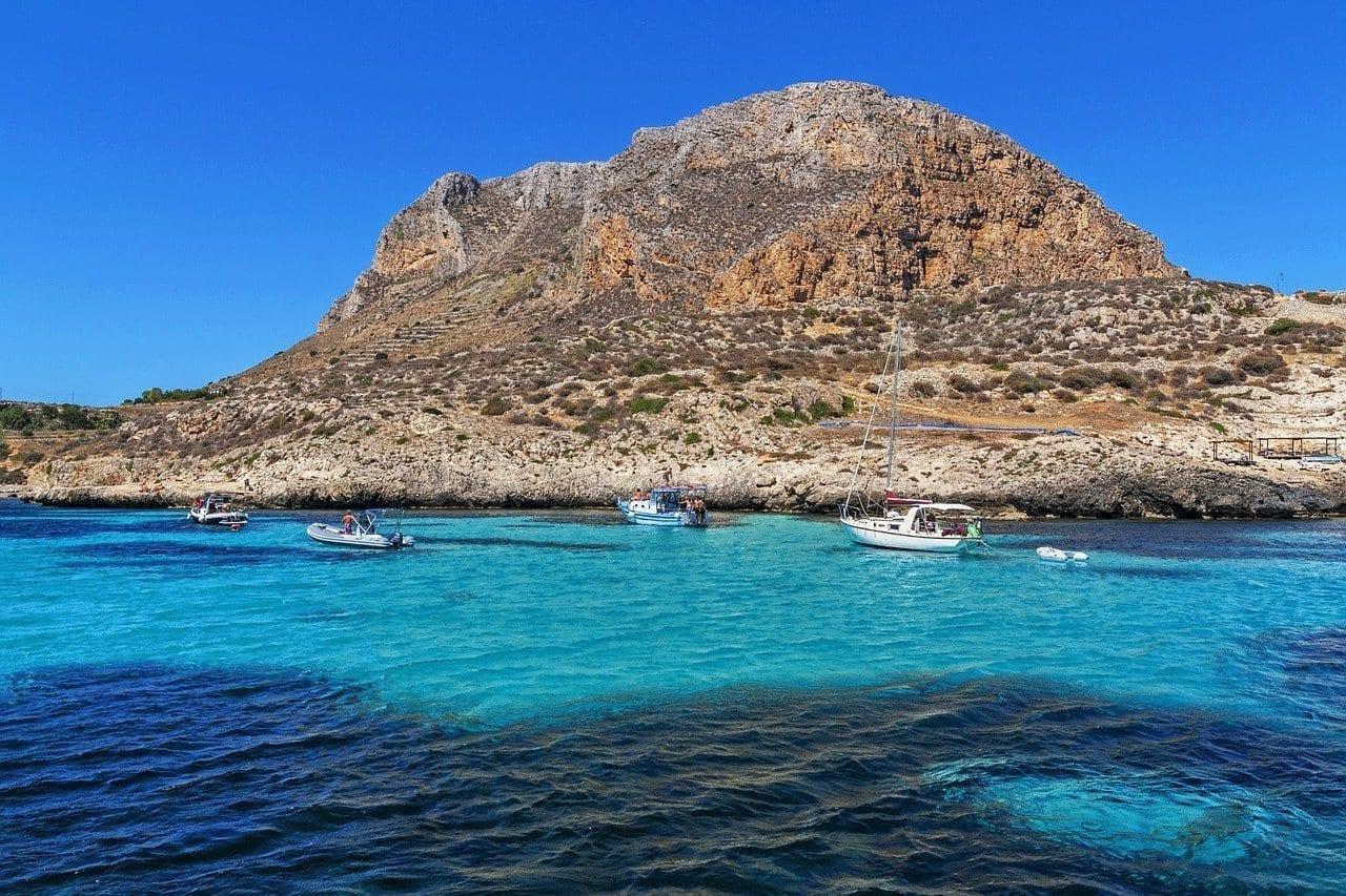 Sicilia Favignana Isla Italia