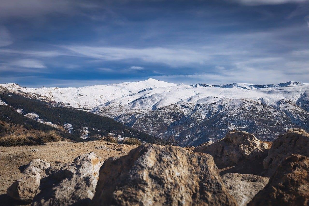 Sierra Nevada Snow Montaña España