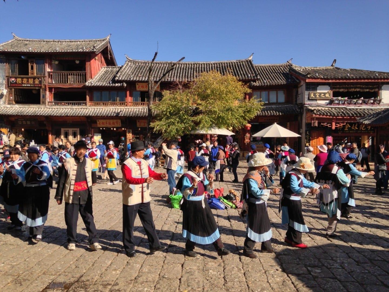 Sifangjie (Calle Square) Lijian China