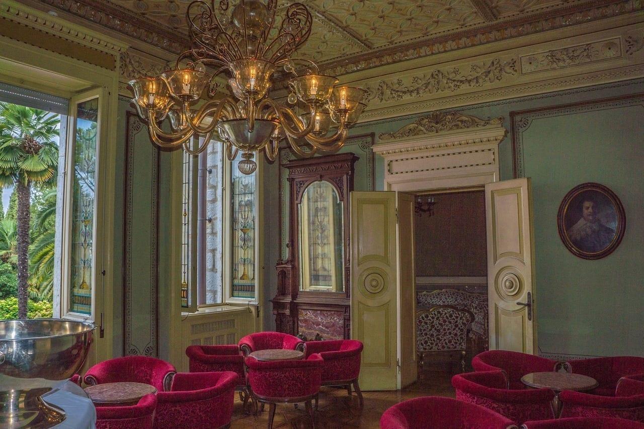 Sirmione Palacio De Villa Cortine Lago De Garda Italia