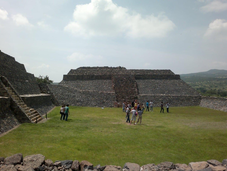 Sitio arqueológico de Peralta Irapuato México
