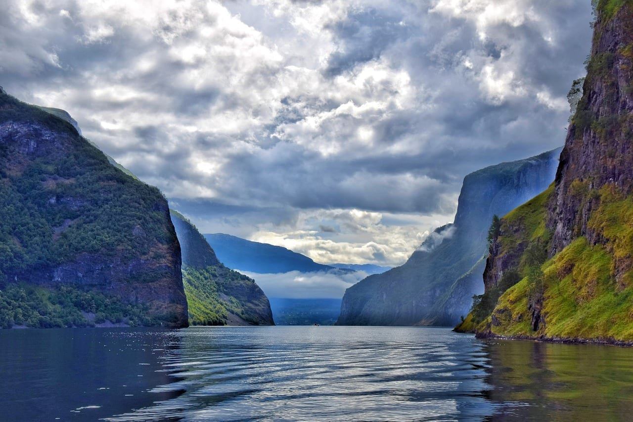 Sognefjord Fiordo Noruega Noruega