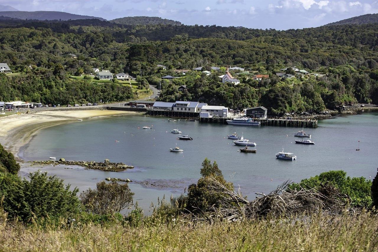 Southland Tierra Del Sur Nueva Zelanda Nueva Zelanda