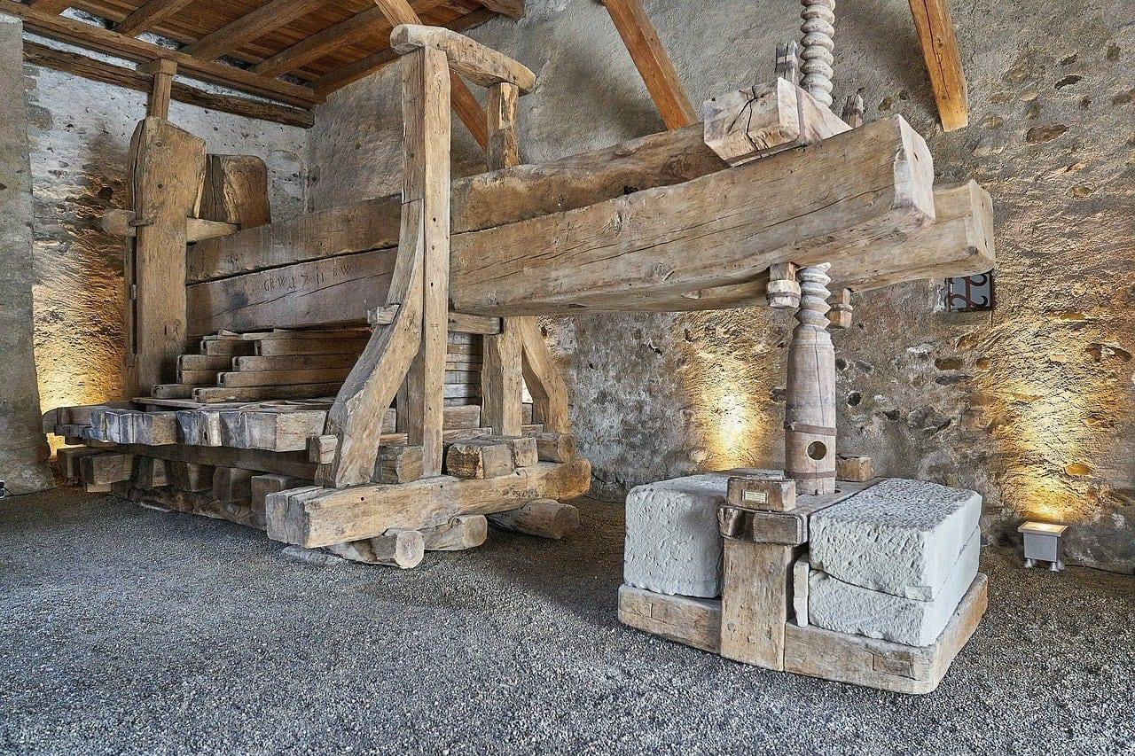 Stein Am Rhein Prensa De Vino Histórico Suiza