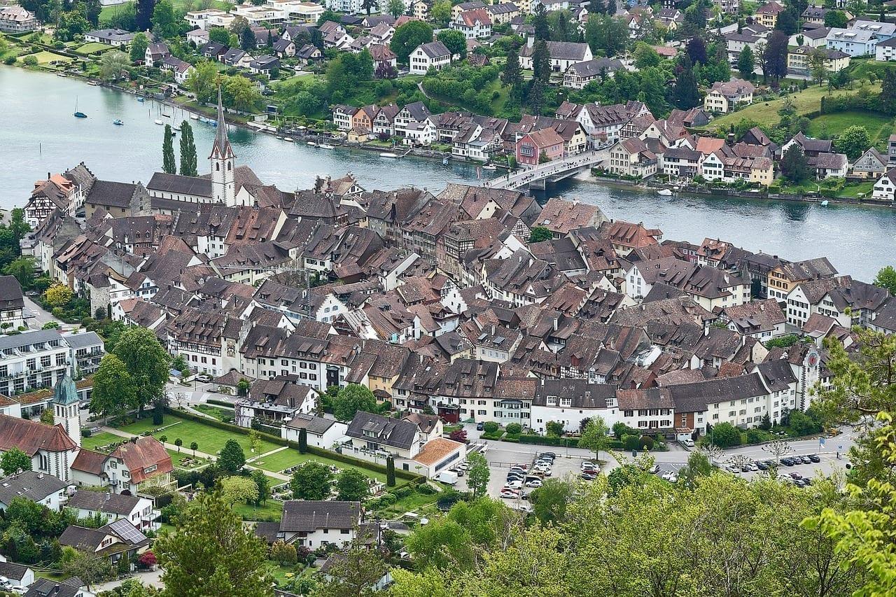 Stein Am Rhein Techos Histórico Suiza